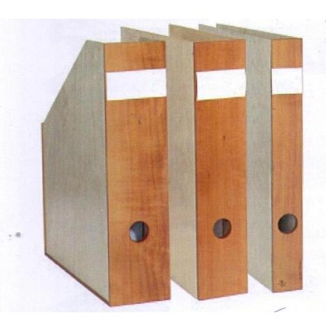 Stehsammler holz  Ligno Holz Ordner und Stehsammler von paperwood